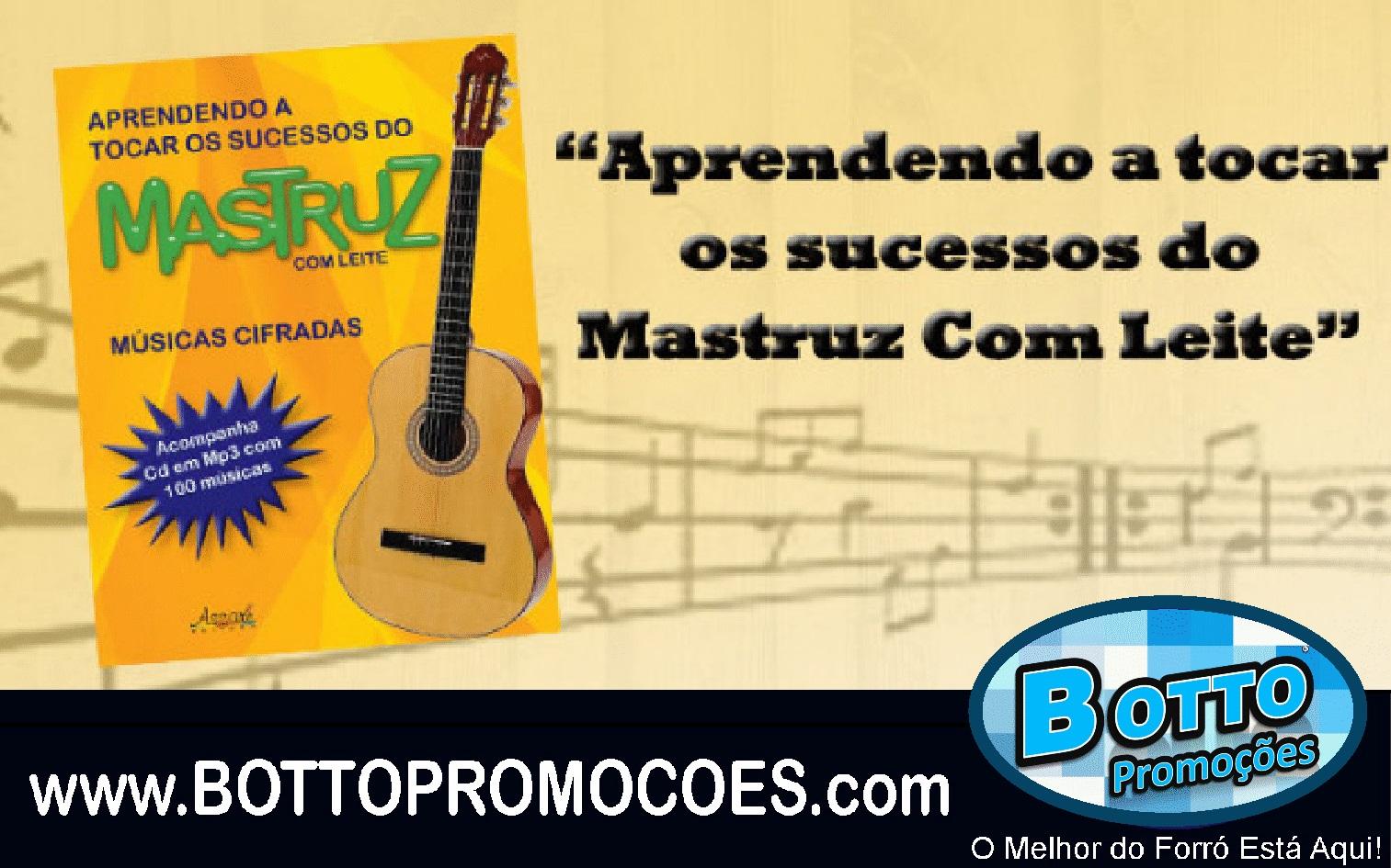 Somsoom Lanca Livro Com Cifras Das Musicas Do Mastruz Com Leite